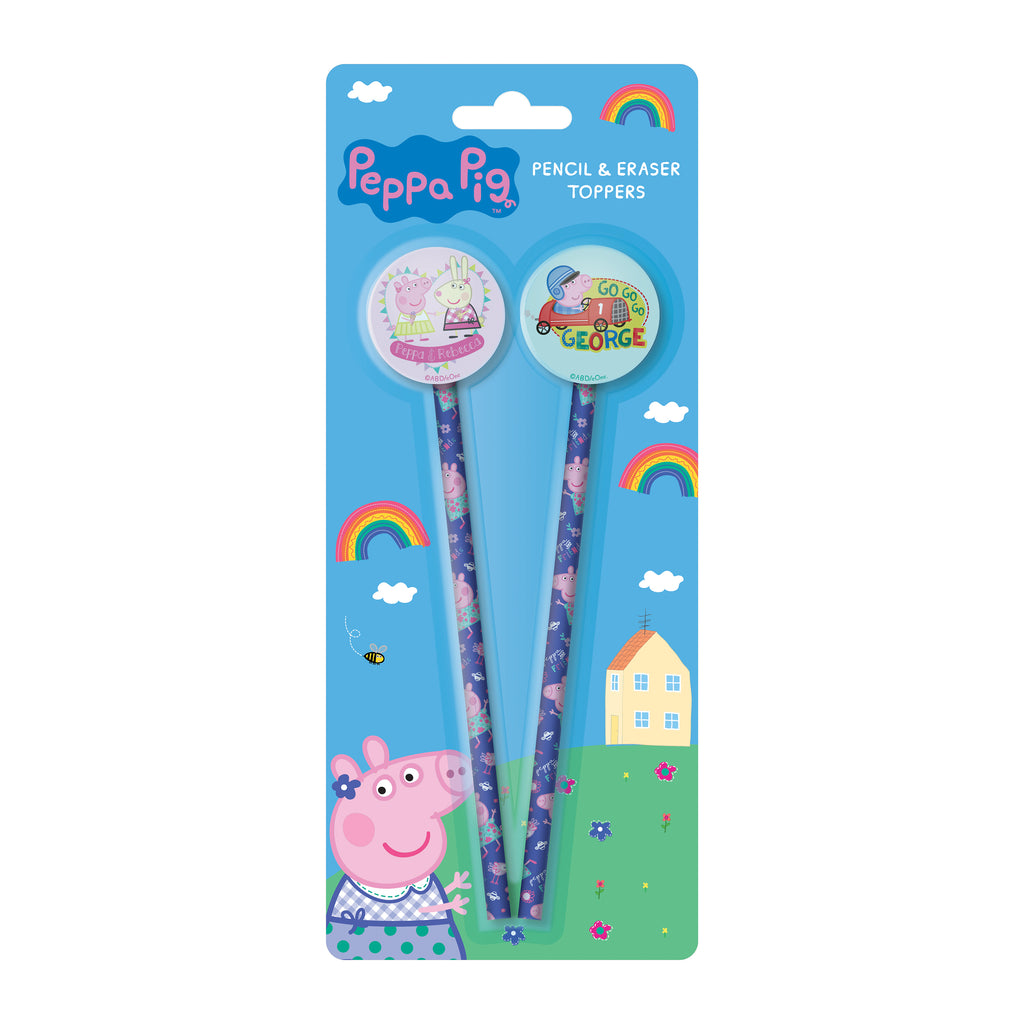 Peppa Pig Pencil and Eraser Topper