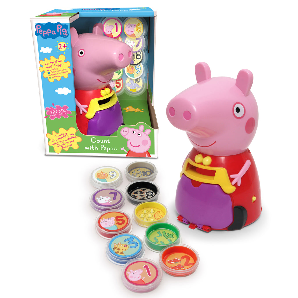 Peppa Pig Count with Peppa