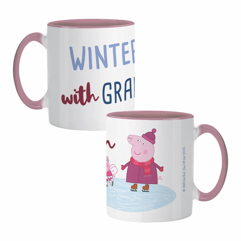 Winter Fun with Granny Coloured Insert Mug