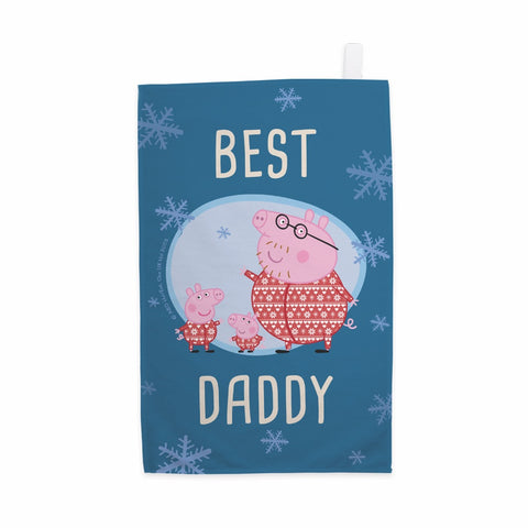 Best Daddy Tea Towel