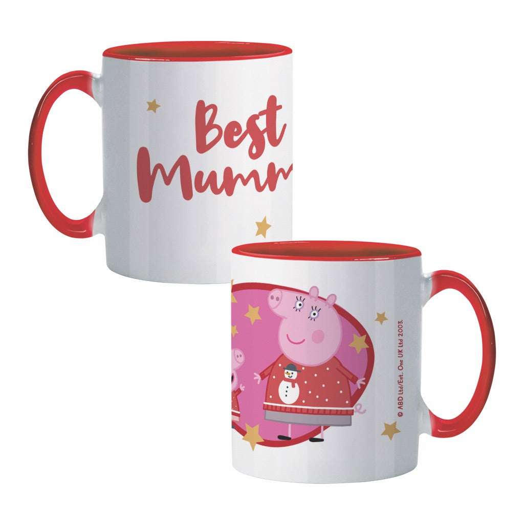 Best Mummy Coloured Insert Mug