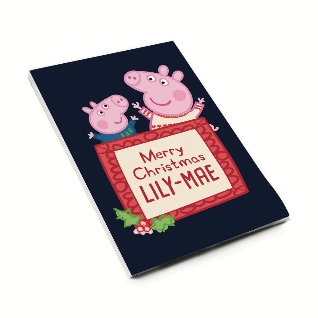 Merry Christmas A6 Magnetic Notepad