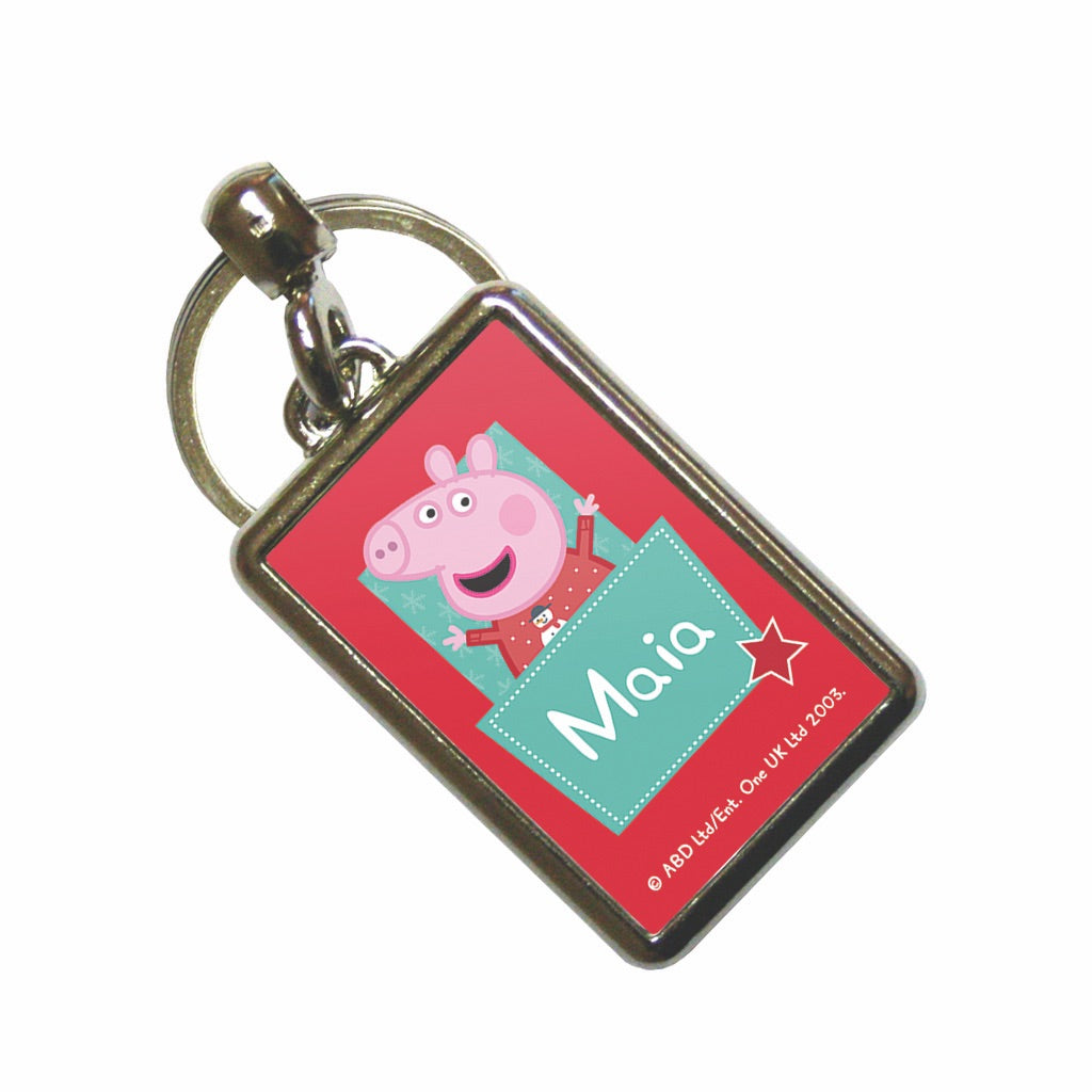 Stars Pocket Metal Keyring