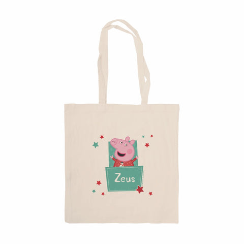Stars Pocket Tote Bag