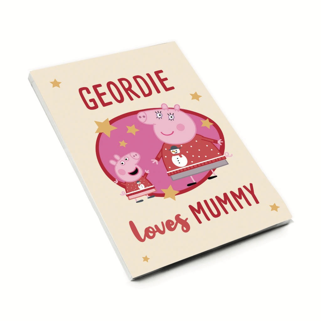 Loves Mummy A6 Magnetic Notepad