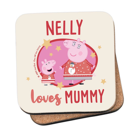 Loves Mummy Coaster