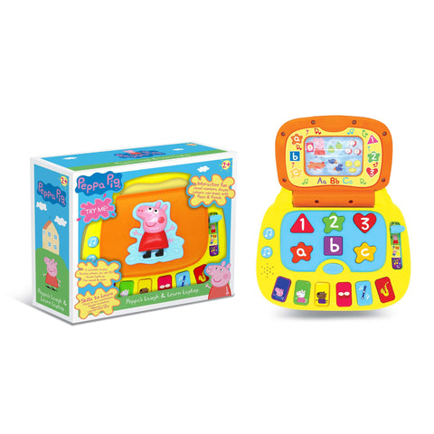 peppa pig laptop