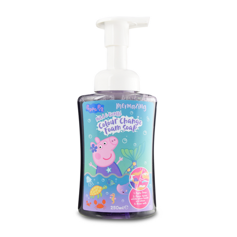 Peppa Pig Colour Changing Foam Soap 250ml