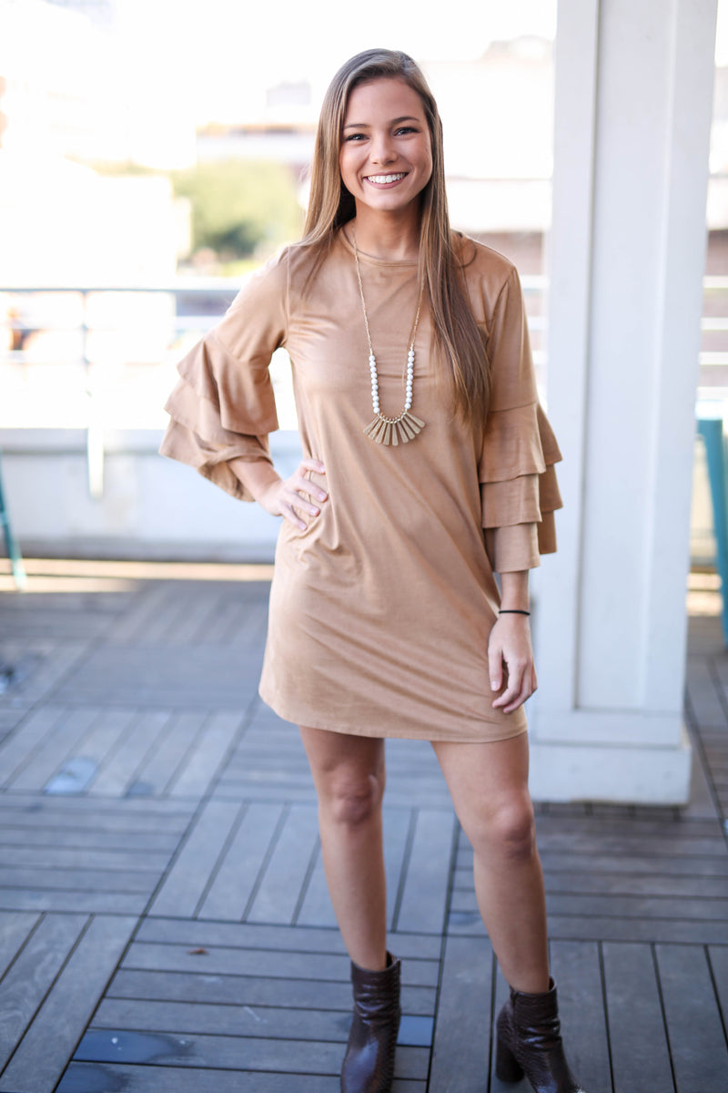 This is Love Suede Dress