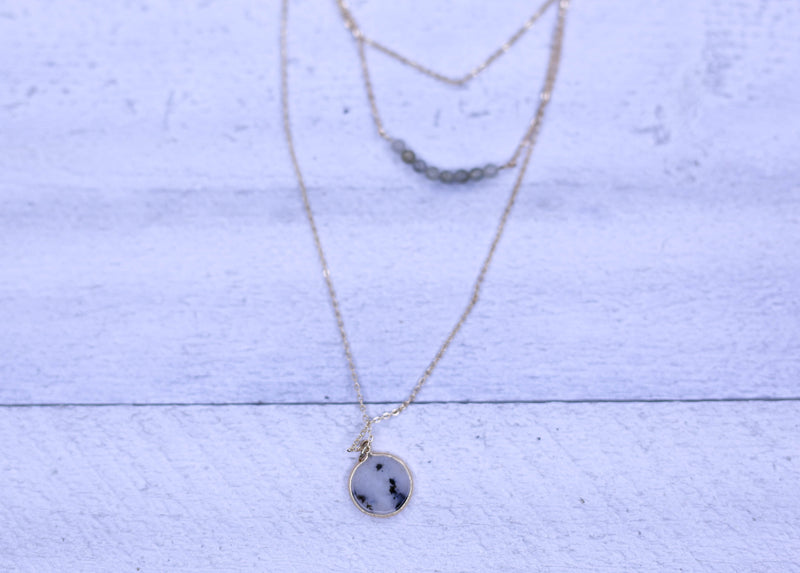 Marble Layer Necklace