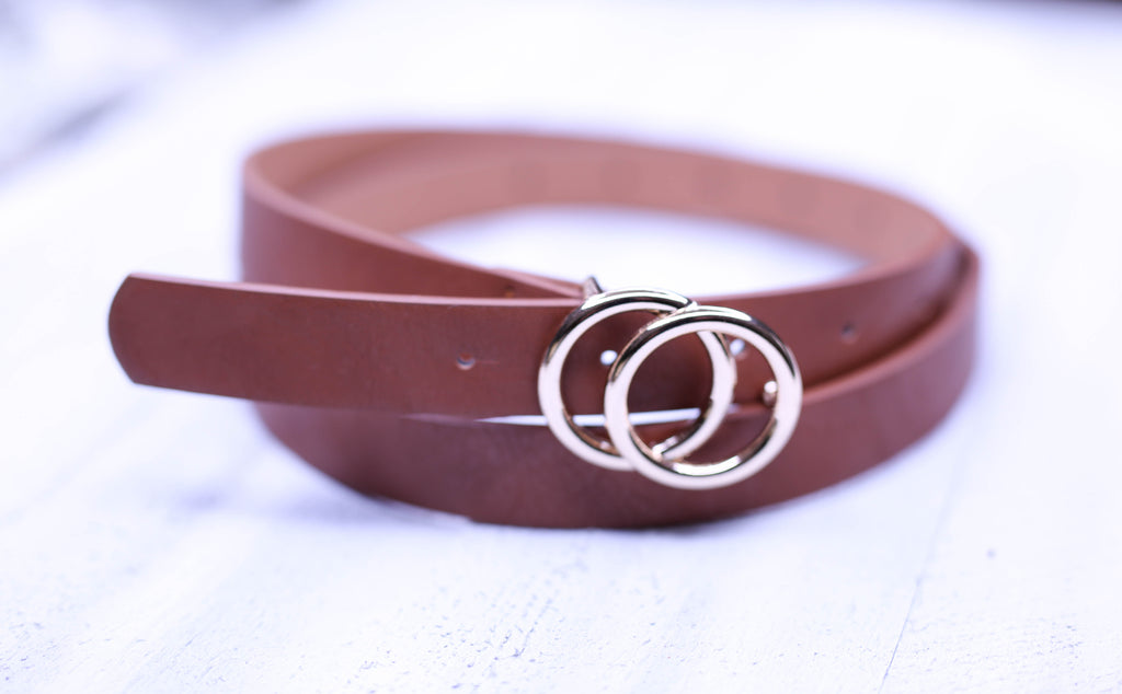 Wild One- Tan Belt