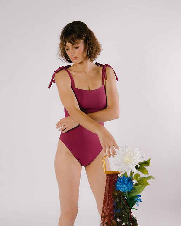 One Piece - Burgundy
