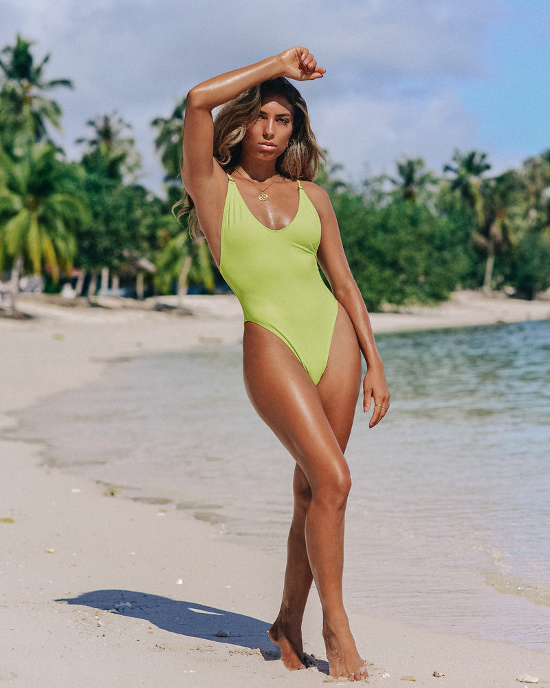 L.A. Swimsuit - Lime