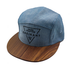 "Dreikant Cap ""Timber Light Blue"""