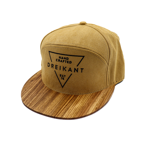 "Dreikant Cap ""Timber Beige"""