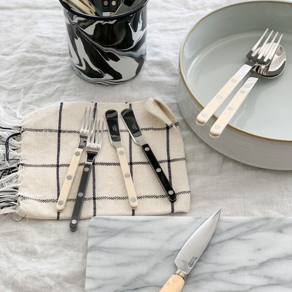 BISTROT FLATWARE - DARK GREY (7 STYLES)