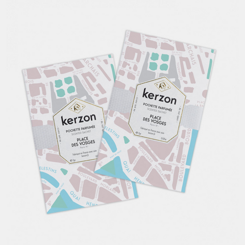 KERZON PARIS SCENTED SACHETS (Set of 2) - Place des Vosges