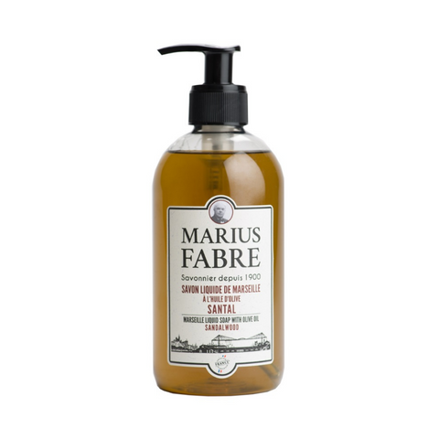 MARIUS FABRE MARSEILLE LIQUID SOAP - SANDALWOOD