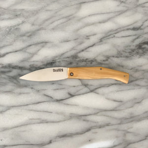 PALLARES SOLSONA BUSA POCKET KNIFE W/ BOXWOOD HANDLE