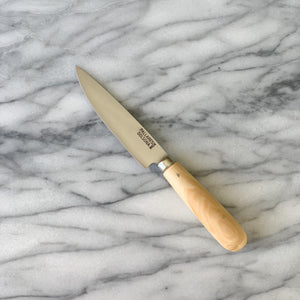 Pallares Solsona Stainless Steel with boxwood handle Kitchen knife Small 10cm made in Spain