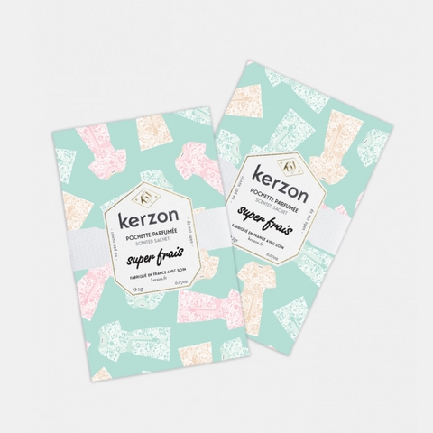 KERZON PARIS SCENTED SACHETS (Set of 2) - Super Frais
