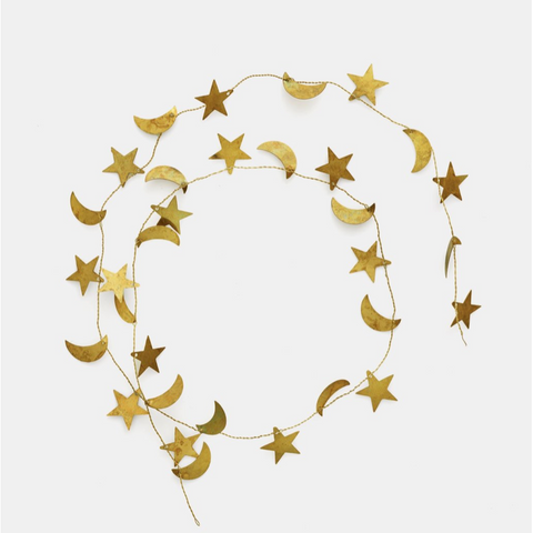 BRASS GARLAND STAR