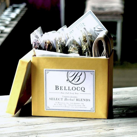 BELLOCQ TEA HERBAL BLENDS COLLECTION