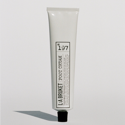 L:A BRUKET FOOT CREAM - NO.197 PEPPERMINT/PATCHOULI