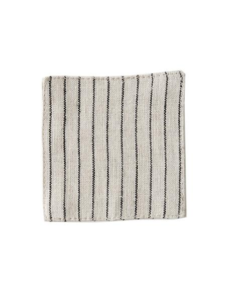 LINEN COASTER (SET OF TWO) - 3 COLORS