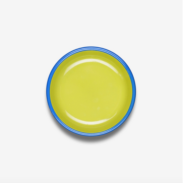 "ENAMEL 8.25"" LUNCH PLATE COLORAMA (4 COLORS)"