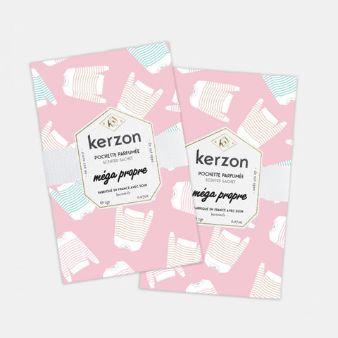 SCENTED SACHETS (SET OF 2) - MÉGA PROPRE