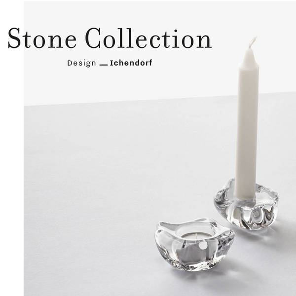 CRYSTAL STONE TEALIGHT HOLDER