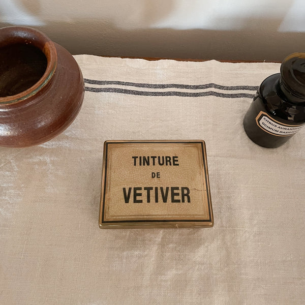 Tinture Ceramic Apothecary Candle Vetiver