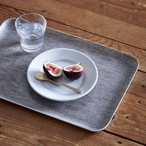 LINEN COATED TRAY LARGE - NATURAL