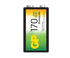 9 VOLT (8.4) GP NiMH RECHARGABLE BATTERY