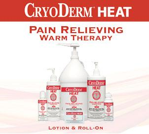 CRYODERM HEAT THERAPY PRODUCTS
