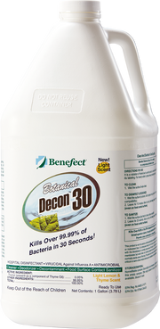 BENEFECT DISINFECTANT AND CLEANER