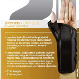 PREMIERE PLUS WRIST BRACE WITH THUMB SPICA