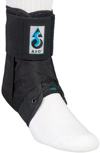 MED SPEC ASO ANKLE STABILIZER ORTHOSIS WITH STAYS