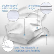 FACE MASK - LAYERED CLOTH / REUSABLE