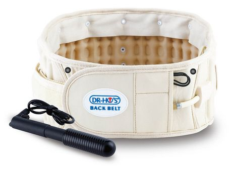 DR-HO'S 2-IN-1 BACK RELIEF BELT