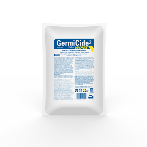 GERMICIDE 3 DISINFECTING TOWELETTES