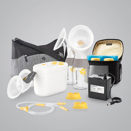 MEDELA PUMP IN STYLE  DOUBLE ELECTRIC BREAST PUMP -FREE PRODUCT!