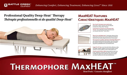 "THERMOPHORE ""MAXHEAT"" MOIST HEATING PADS"