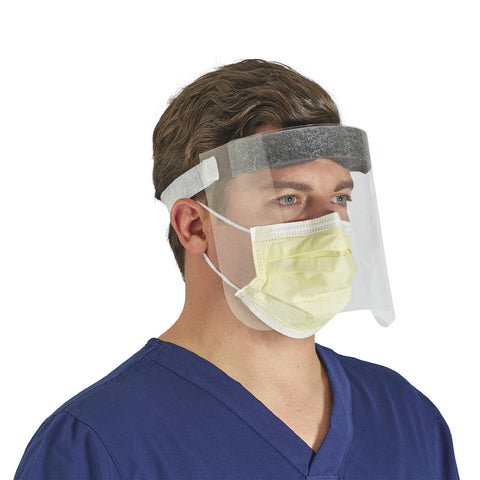 FACE SHIELD (POLYETHYLENE/LATEX FREE) MASK