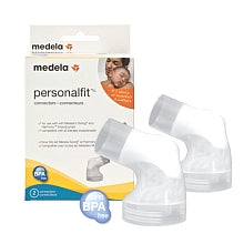 MEDELA PERSONAL FIT BREASTSHIELD CONNECTORS (Swing, Harmony) 2 per pkg.