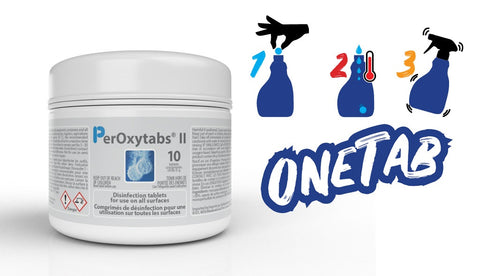ONETAB (BY SURFACE SCIENCE) DISINFECTANT AND CLEANERS