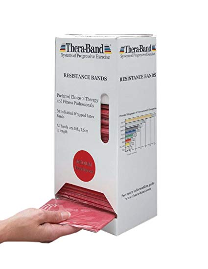 THERA-BAND 5 FOOT (30 PACK) DISPENSER PACK
