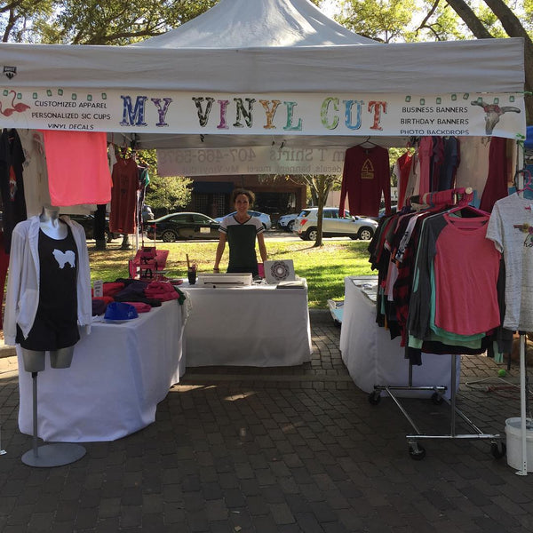 Working a Craft Fair? Here's what you need...