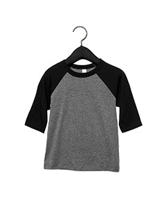 Bella Canvas Toddler 3/4 Sleeve Baseball